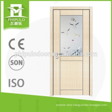 Best selling interior modern door melamine door