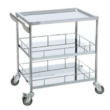 Cheap Hospital Stainless Steel Utility Trolley Hospital Medical Trolley with Drawers Cheap Hospital Stainless Steel Utility Trolley Hospital Medical Trolley with Drawers