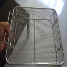 Galvanized Crimped Woven Wire Mesh for Basket