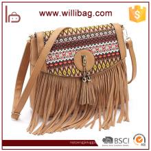 Lady Bags Supplier Sale Native Woman Shoulder Bags Cowboy Girl Bags American