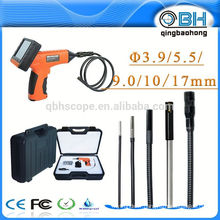"""Inspection imperméable d'appareil-photo de tuyau d'IP67 avec la sonde de 3.9 """"/ 5.5mm / 9mm / 17mm 3.5"""" TFT"""