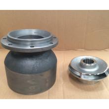Pièces de pompe de fonte d'acier inoxydable de fonte / acier inoxydable / alliage
