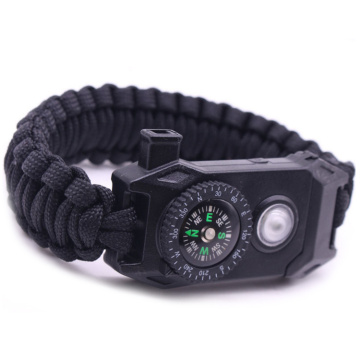 Wildschutz Notfall Paracord Survival Armband