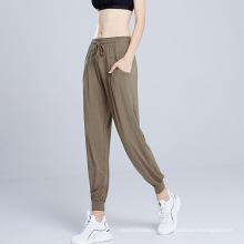 Yoga Pantalon d'entraînement lâche décontracté