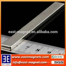 Rare Earth Permanent Rechteck NdFeB Magnet mit Nickel-Beschichtung
