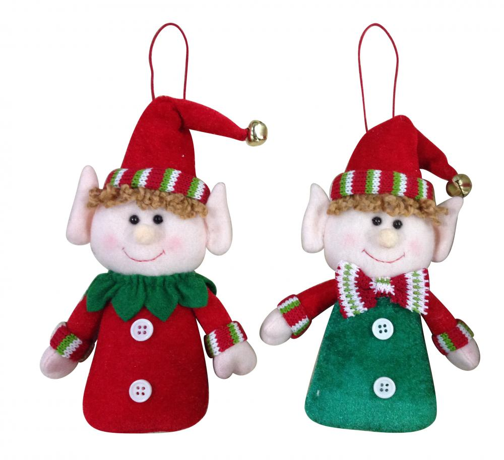 Magic Elf Christmas Doll Ornament