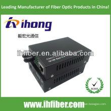 10 / 100M fibra óptica Media Converter multimodo dupla fibra ST porta