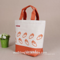 2017 hot sale low price 6-packs Cooler bag Non woven /Cotton /Nylon tote bag with PEVA thermal insulation