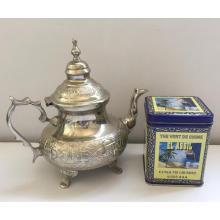 extra china green tea 41022 for Algeris market per price with 250g tin