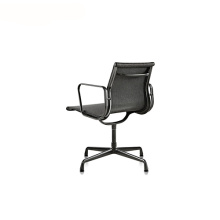 Mesh Aluminium Legs Group Office Conference Armchair