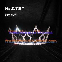 Star Shaped Full Round Wholesale Pageant Crowns