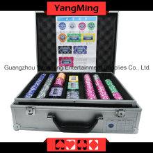 Étiquette Poker Chip Set (760PCS) Ym-Mgbg002