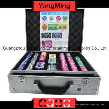 Наклейка набор покерных фишек (760ПК) Юм-Mgbg002