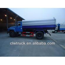 DFAC 10m3 volcar camión de basura con basura colgante