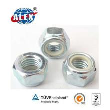 Steel 45# Material Nylon Lock Nut