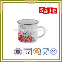 El drinkware del esmalte 450ml masturbate la taza de café del tubo suave