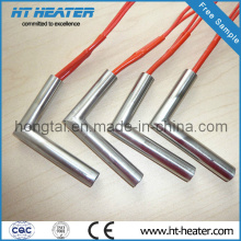 Electric Cartridge Heater Element with Elbow