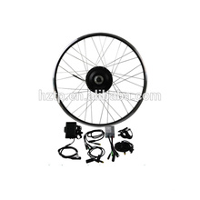 E kit de conversion de vélo, 24V 36V 48V facile assembler kit de conversion de vélos électriques