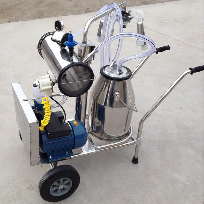 one bucket milking machine