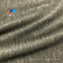 Tecido Lurex Nylon Tricotado de Poliéster Spandex Brilhante Lycra