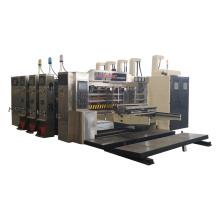 automatic high speed carton making printing machine with slotting die cutting box maker machinery price
