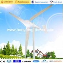 1kw de gerador de energia residencial vento 2kw, 3kw, china de gerador de vento 5kw