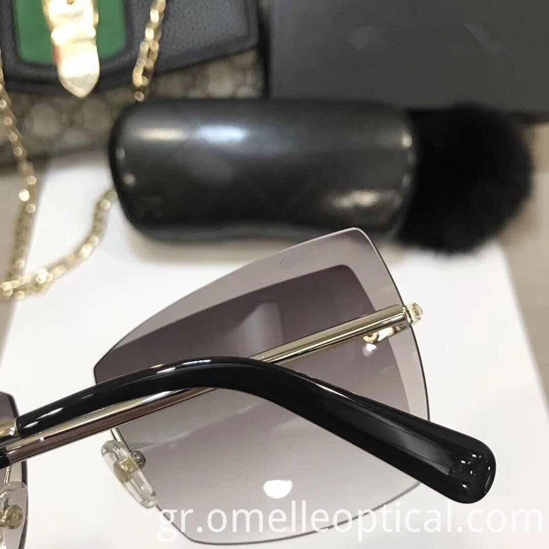 Rimless Sunglasses Mirror