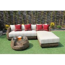 Trendy Classy Design Wasser Hyazinthen Sofa Set Für Indoor Wohnzimmer Natürliche Korbmöbel