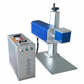 CO2 Laser Marking Machine for Bamboo Wood Leather