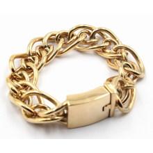 Bijoux à bracelet en acier inoxydable à la mode à la vente chaude pour hommes