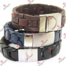 Vente en gros Bracelet tricot en acier inoxydable avec fermoir magnétique (LB15112306)