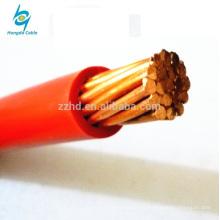 tipo de cobre # 12 # 14 # 10 # 8 # 6 # 4 # 2 AWG TW cable trenzado
