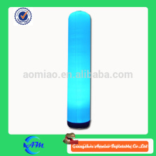 inflatable light column inflatable lighting inflatable pillar with led ligh for advertising