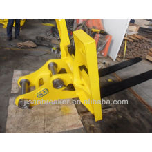 YUCHAI YC13 lifting fork,excavator lifting fork,lifting fork for excavator
