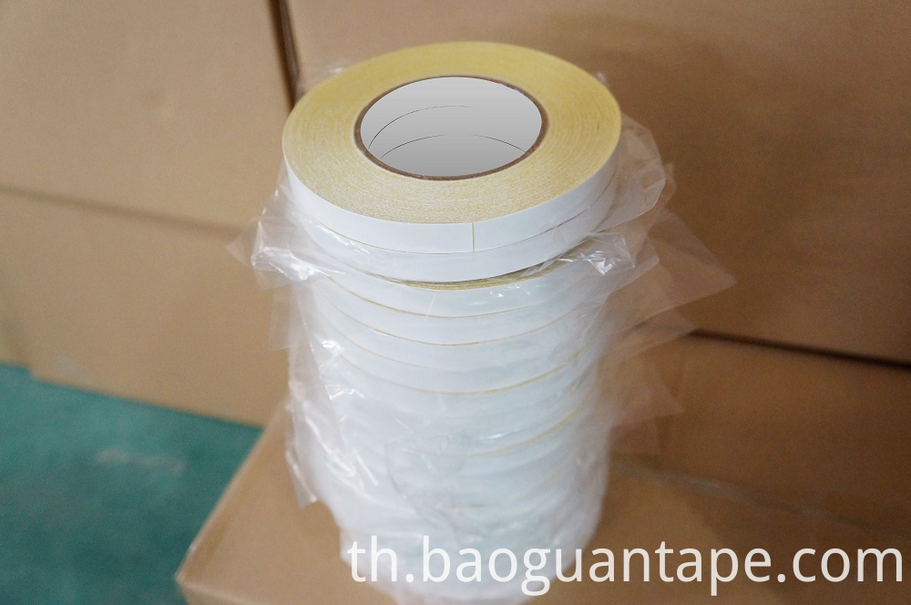 double side adhesive yellow hotmelt embroidery tape07B