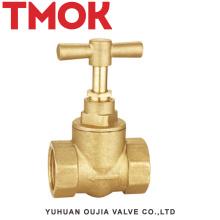 extremos de compresión montaje de vapor dibujo válvula de cierre de latón oculto