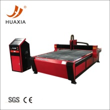 Plasma cutting table with metal sheet nesting software