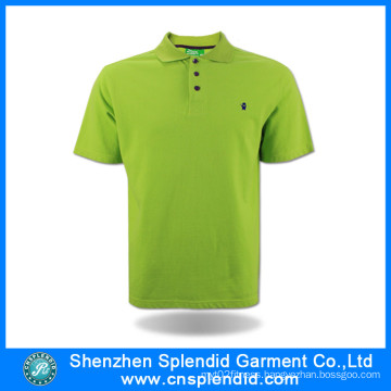 2017 New Design Different Colors Fashion Cotton Unisex Polo Shirt