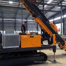 Hydraulic portable  water well mine drill rigs