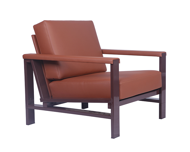 Strong-Metal-Frame-Leather-Armchair-for-Living-Room