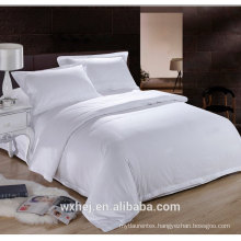 Factory 100% Cotton 200TC QUEEN size White Duvet Cover For 5 Star Hotel