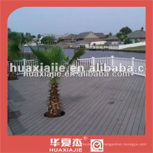 Wpc composite decking pour terrasse