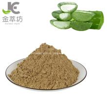 Polvo de extracto de aloe natural utilizado como cosmética