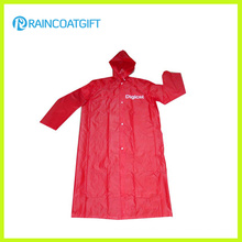 Promotional Logo Printed Wholesale PVC Raincoat