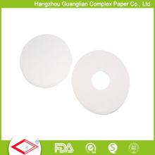 Настройка 8-дюймовый круглая форма для выпечки Силиконизированная бумага с отверстиями