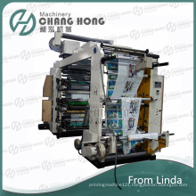 Six Colour High Speed Nonwoven Flexographic Printing Machine (CE)
