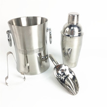 Amazon Top Seller Cheap 300ml Mini Metal Cocktail Shaker Bar Tools Accessories