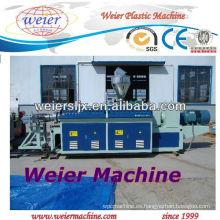 Extrusor de tornillo gemelo cónico / máquina de extrudado del PVC