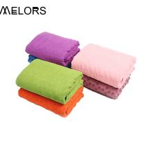 Полотенце для йоги с нескользящей подошвой Melors Rubber Grip Dots