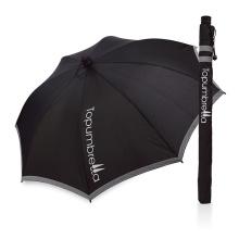 Отражения света оптовая продажа рекламные мода алюминий прямой солнечной УФ зонтик зонтик